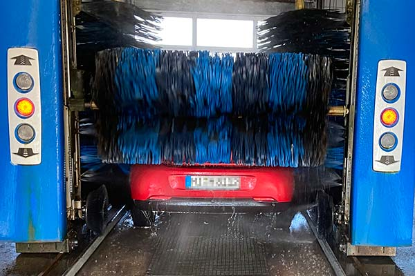 Schonende Softecs® Waschbürsten.