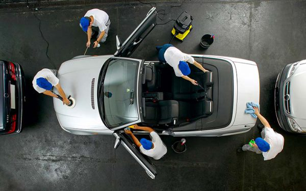 Fahrzeugaufbereitung Auto Service Levern
